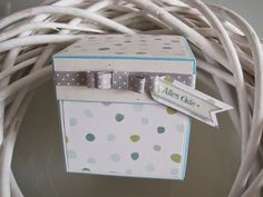 Little-Miss-Sophie : Partytime! Tada- Box Stampin up! Explosion box