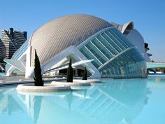 Valencia, Spain...miss this place so much, also love santiago calatravas architecture