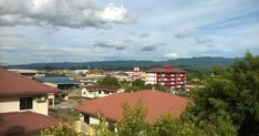 Tenom Town: view from nearby hill WILLIAM STEWART CAME FROM a small town called Tenom, a remote place in Malaysian Borneo. His f... William Stewart, Borneo, Travel And Leisure, In The Heart, Small Towns, Remote, Places, Outdoor Decor, Lugares