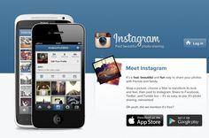Instagram App Website