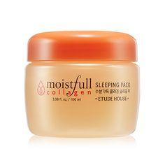 ETUDE HOUSE 2015 New Moistfull Collagen Sleeping Pack 100ml - Etude House Beautynetkorea Korean cosmetic