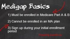 #Medigap basics: 3 things to know.