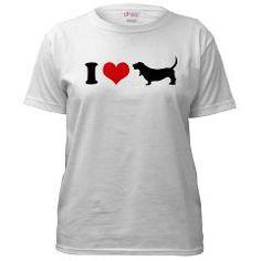 Basset Hound Woohoo! Basset Hound Woohoo! T-shirt Maglietta IuINaOFZW7