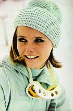 Cheryl Tiegs in Seventeen magazine, November 1967: we all wanted to be just like her in junior high.
