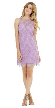 The Ali Ro Lilli dress... what a fitting name for this beautiful lilac organza dress