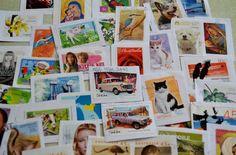 Postage stamps  Australian   Repurpose Me  by Raspberrytreats