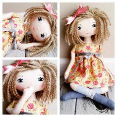 "SpunCandy Handmade Doll #spuncandydolls #handmadedoll #clothdolls #weloveragdolls #etsyforlittles #dollsofinstagram #handmadedolls #fabricdoll #handmadewithlove"""