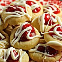 Cherry Pie Cookies - A Dish of Daily Life