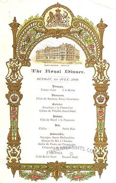 Victorian Train Menus Google Search Steam Train Room