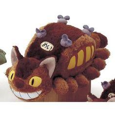 """Totoro : Cat Bus Plush - 10"""". amazon.com $34.99"""