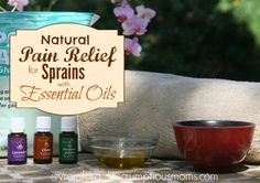 Natural Pain Relief for Sprains title image