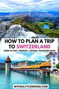 Plan your Swiss holiday with this detailed Switzerland travel guide from a local. Includes the best time to visit, itinerary options (for 3, 5, 7 or 10 days), visa, transportation in Switzerland (including Swiss Pass), accommodation options, visa, budget and more! Switzerland travel | Switzerland bucket list | Switzerland guide | Switzerland travel guide | Switzerland travel tips | Switzerland travel inspiration | #myfaultycompass #switzerland #travelguide