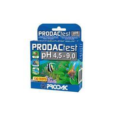 Test de agua ProdacTest pH Agua Dulce y Marina caja 130 tests