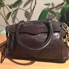 Rebecca Minkoff Morning After Bag Pre-loved but lots of life left to give. Gold hardware and brown leather. Rebecca Minkoff Bags