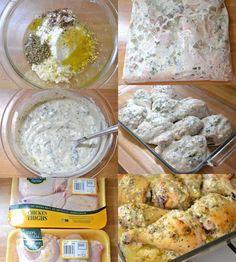 Kurczak z pyszną marynatą! świetny pomysł na obiad <3