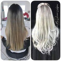 Espaço Bella, em Cacoal (RO), realizou um lindo trabalho, pela profissional Janaelly Lopes, com produtos Sweet. <3 Sucesso!  #sweethairprofessional #sweet #hair #somostodossweet #salãoparceiro #parceirosweet #embaixadores
