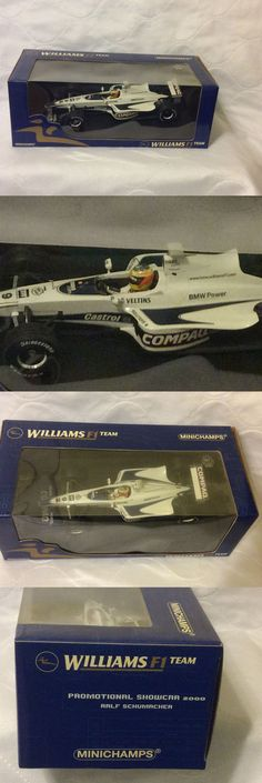 Formula 1 Cars 180270: Minichamps Ralf Schumacher 2000 Bmw Williams Promotional Car 1:18 Scale -> BUY IT NOW ONLY: $30 on eBay!
