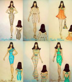 My Final Major Project for college: 'Modern Day Egypt' collection collage part 2 by Fashion_Luva, via Flickr