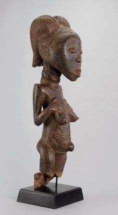 Title: Desirable old large statue LUBA Baluba Figure Congo African Tribal ArtDescription: CONGO DRCSuperb, Old and La. Congo, Art Gallery, Art Tribal, Statues For Sale, African Sculptures, 17th Century Art, Art Premier, Luxor Egypt, British Museum