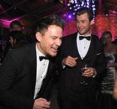 Channing Tatum, Chris Hemswort, The Best 2014 Oscars After-Party Photos -- Vulture