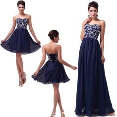 2014 Bridesmaid Party Cocktail Evening Dress Homecoming Ball Gown Prom dresses #GraceKarin #Ballgown #Formal