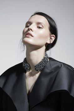 Katlin Aas by Thomas Lohr for Pop Magazine Fall/Winter 2014 – Balenciaga