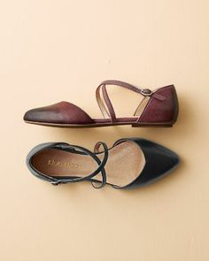 Klub Nico Gaylen Ankle-Strap Ballet Flats - Garnet Hill