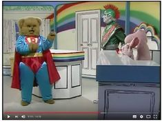 Zippy won't share any toys with George, but Bungle thinks Superman would get Zippy to share his toys. Bungle pretends to be his favourite hero Superman, but . Live Tv Show, Superman, Toy Chest, Hero, Rainbow, Make It Yourself, Dolls, Rain Bow, Baby Dolls