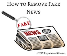 How to Remove Fake News from Your Search Results - Google, Facebook, Project Owl - Reputation911