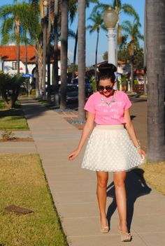 A Darling Dream: .Shopping Is My Cardio.  #tulleskirt #polkadots #giveaway