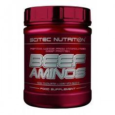 BEEF AMINOS , #beStrong #Fitness #supplements #suplementos #nutricionDeportiva Scitec Nutrition, Fitness, Beef, Food, Meat, Essen, Meals, Yemek, Eten