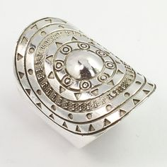 925 Sterling Silver PLAIN Handmade Artisan Ring Size US 7.75 GYPSY STYLE JEWELRY…