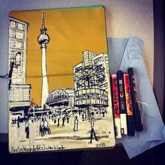 Berlin prep sketch