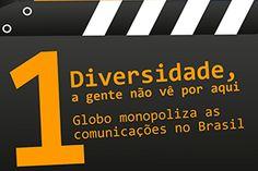 50 anos de Globo, 50 anos de golpismo!                                                                 Contra a ditadura judicial midiática no Brasil!