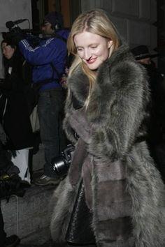 Candice Lake at Alexander Wang. New York Fashion Week Street Style: Day 3 #streetstyle