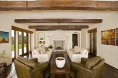 Los Gatos Mediterranean Custom Home - mediterranean - living room - san francisco - Conrado - Home Builders