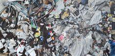 // Ryan Dineen—Ausschussdaten (2014) 48 xc 96 oil on canvas