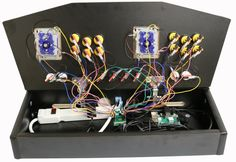 Plug and Play - Arcade Control Panel Man Cave - Game Room Solutions Arcade Control Panel, Arcade Controller, Man Cave Games, Arcade Games, Game Room, Plugs, Ideas, Corks, Game Rooms