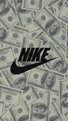 Get Good Nike Wallpaper for Smartphones Today! Money Wallpaper Iphone, Hype Wallpaper, Emoji Wallpaper, Iphone Background Wallpaper, Cellphone Wallpaper, Desktop Backgrounds, Hd Desktop, Wallpaper Ideas, Pattern Wallpaper