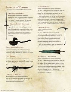 Darksouls Weapons by Braggadouchio