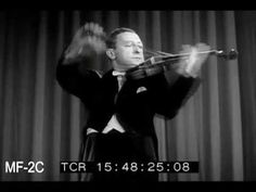 Caprice #24 di Paganini by Jascha Heifetz - My father's favorite musician, along with Chet Atkins. He was known as God's Violinist. His own teacher did not name him as a student and when asked said oh he is God's student. Itzak Perlman says he was known as a cold musician but was very hot, a fire, but so disciplined and hot people mistook him for cold.
