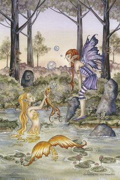 Fairy Art Artist Amy Brown: The Official Online Gallery. Fantasy Art, Faery Art, Dragons, and Magical Things Await. Fairy Dragon, Mermaid Fairy, Brown Artwork, Mermaid Print, Artist, Faery Art, Amy Brown Art, Fairy Art, Mermaid Art