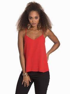 Nelly.com: T Cami Top - River Island - nainen - Red. Uutuuksia joka päivä. Yli 800 tuotemerkkiä. Rajatonta vaihtelua.