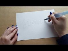 Fast Motion Embossing - YouTube