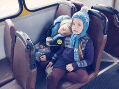 Milk Magazine - Voyage vintage dans un bus scolaire typique estonien. Eclats de rire, grimaces et chamailleries – une classe verte inédite placée sous le signe des 70′s.