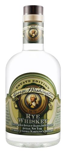 Hillrock Estate Distillery George Washington Rye Whiskey