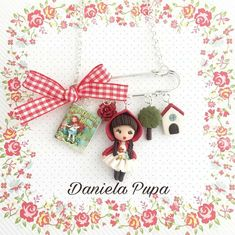 Chibi, Clay Crafts, Cute Girls, Polymer Clay, Photo And Video, Dolls, Christmas Ornaments, Holiday Decor, Biscuit