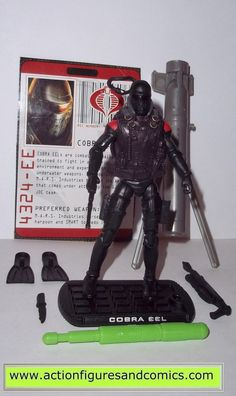 GI Joe Retaliation wave 3 Dark Ninja w// Glider Backpack *NEW//SEALED*