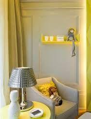 Resultado de imagem para quarto de infantil com luz amarela