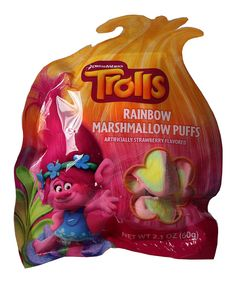 Look at this Trolls Rainbow Marshmallow Puffs - Set of 10 on #zulily today!